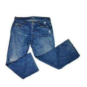 7 For All Mankind Relaxed Jeans Size 36